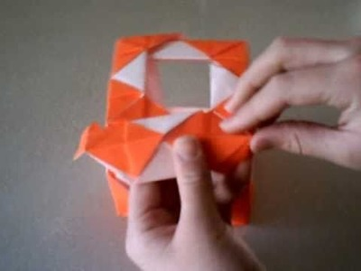 How to make an oragami open box