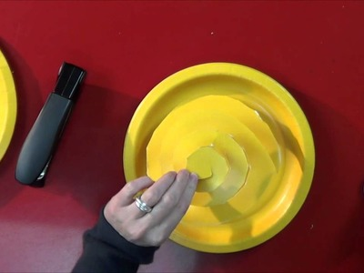 How to Make Paper Plate Roses