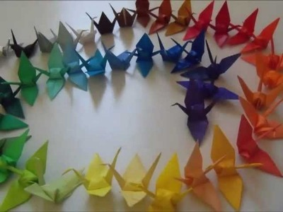 How to: Origami Crane Mobile