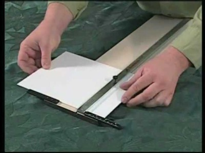 Logan 250 Craft & Hobby Cutters: Usage video by ArtistSupplySource.com
