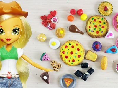Make Doll Food with Aluminum Foil- Doll Crafts