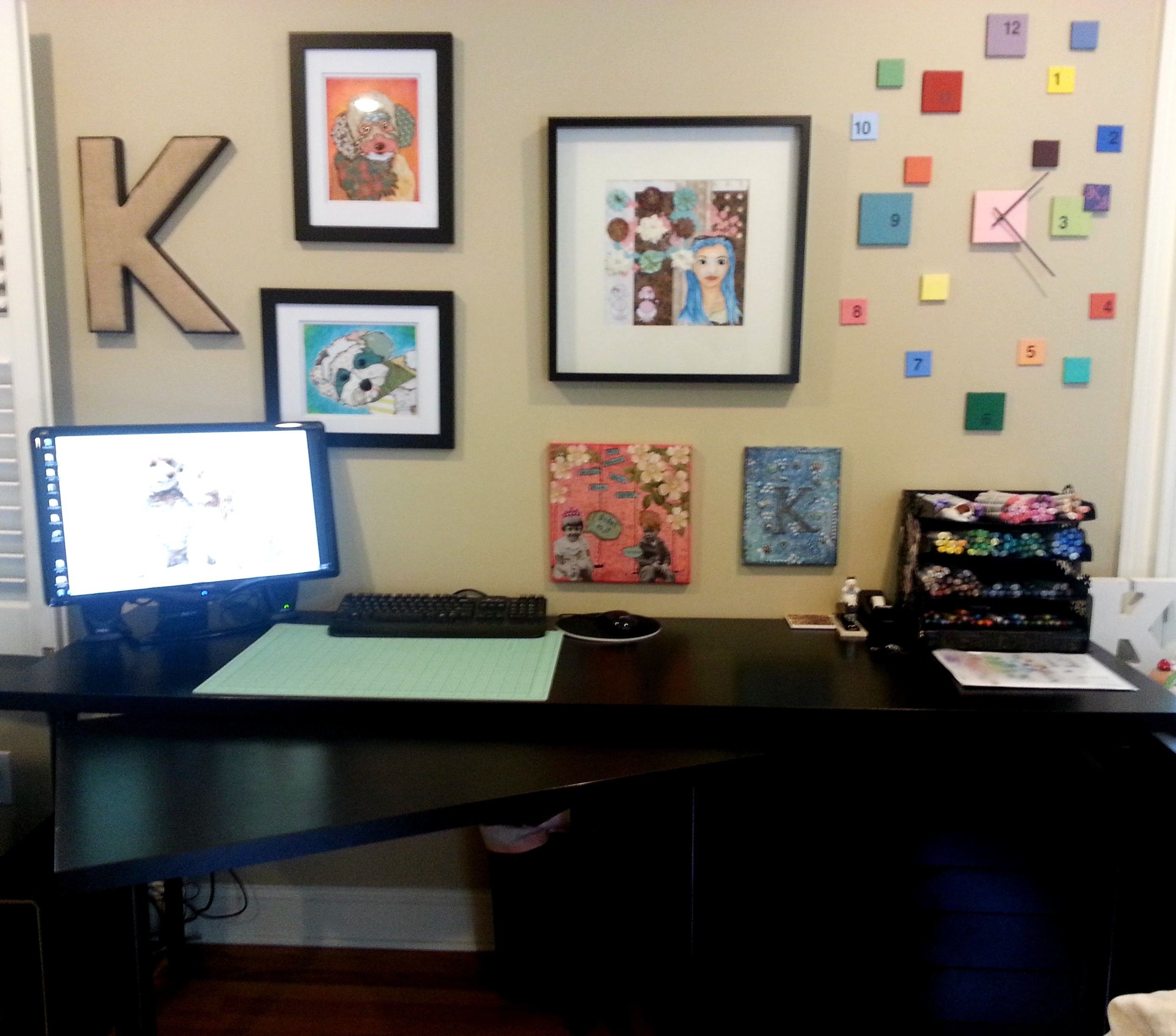 My New Craft Room and Office Tour