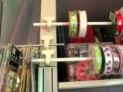 New Shelves In My Scrap Room- Organization Ideas