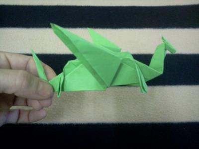Origami Dragon - Dragon de papel