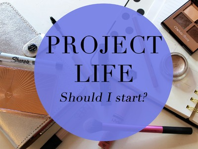 Project Life: Should I Start? And My First Scrapbook Flip Through!