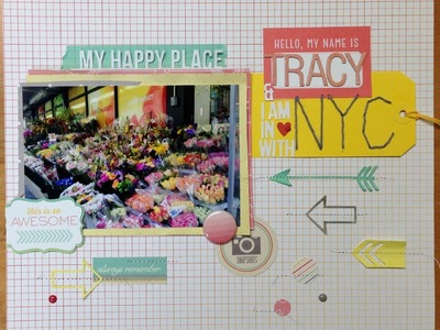 Scrapbooking Process: I am in Love with NYC