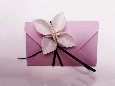 Simple Envelope in 4 steps. Make Your Own Origami Envelopes ANY SIZE! Wrap ideas.
