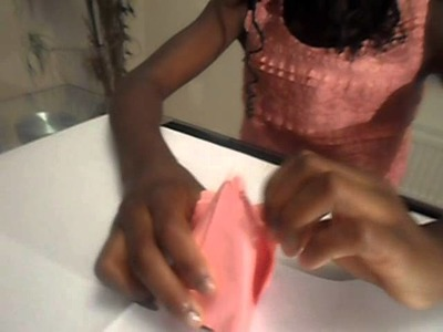 Tania's World (How to make Origami Tulip Flower)