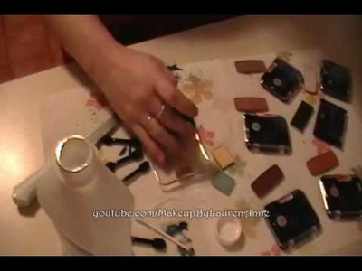 Tutorial: DIY DVD Eyeshadow Palettes ~ Part 1