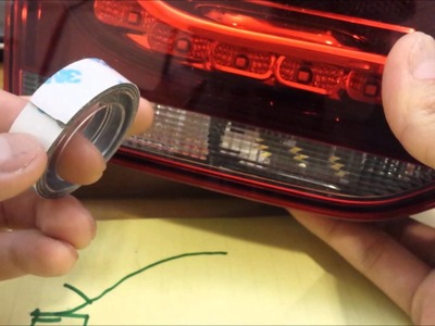 Tutorial: DIY Golf R white LED Back Up Light (no error code)