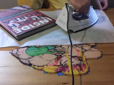 Beadspriting Tutorial: Ironing One Side (p.1)