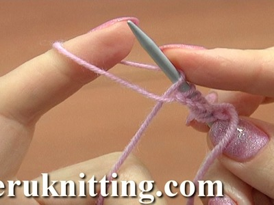 Cast On for Beginners Tutorial 1 Method 8 of 18 Knitting Fundamentals