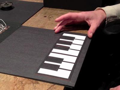 Catarina's Paper Piano box
