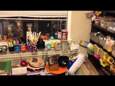 Craft Room Tour 2014