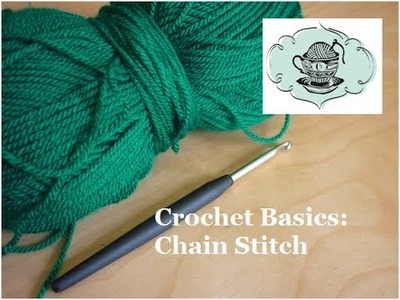 Crochet Basics: Chain Stitch (ch) ¦ The Corner of Craft