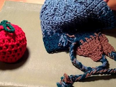 Crochet Peruvian Style Earflap Hat