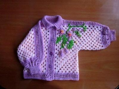Crochet sweater for kids
