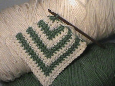 "Crocheting A ""Mitered Square"""