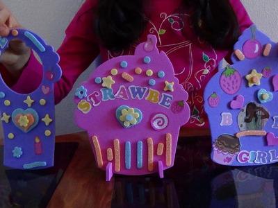 Cupcake Room Decor.Easy  simple Kids Crafts b2cutecupcakes
