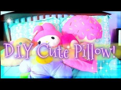 D I Y: Cute Pillows| Room Decor