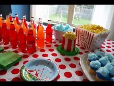 DIY Carnival theme party decorating ideas