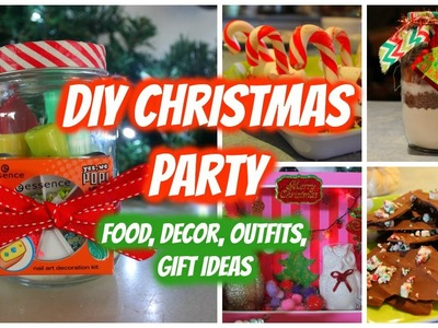 DIY Christmas Party! Food, Outfits, Gift Ideas, Decor