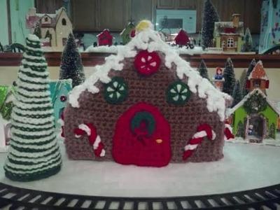 DIY Crochet Gingerbread House