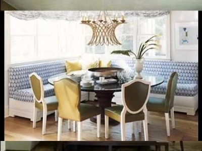 DIY Dining room banquette decorating ideas