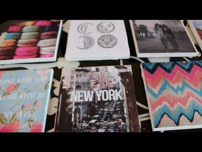 DIY: Dorm Canvas Decorations!