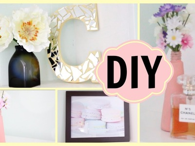 DIY | Easy & Affordable Room Decor! ✿ Chloé Cori