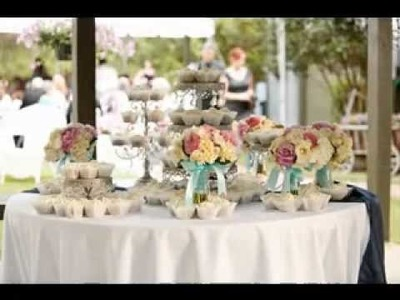 DIY Shabby chic wedding ideas
