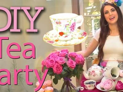 DIY Tea Party with Socraftastic! #17NailedIt