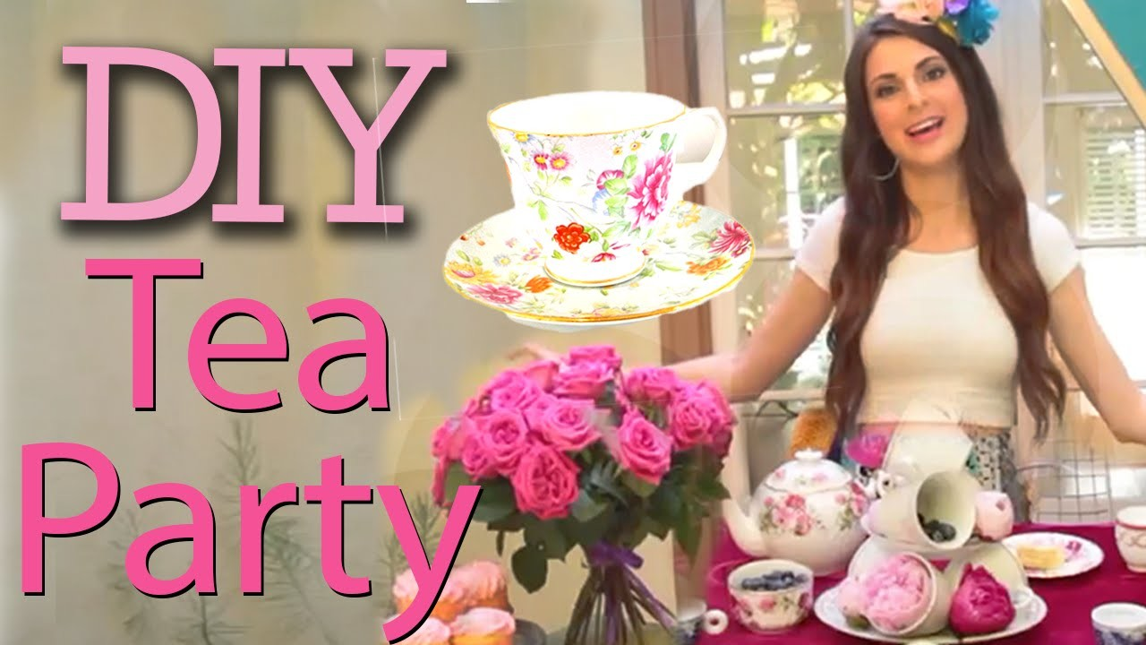DIY Tea Party with Socraftastic! #17NailedIt