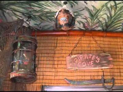 DIY Tiki bar decorating ideas