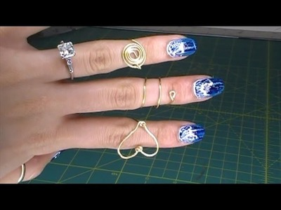 DIY Wire Rings Part 1: Spiral, Flat Circle, Heart