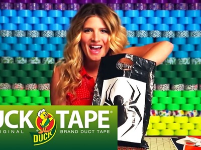 Duck Tape Crafts: How to Make a Halloween Trick or Treat Bag