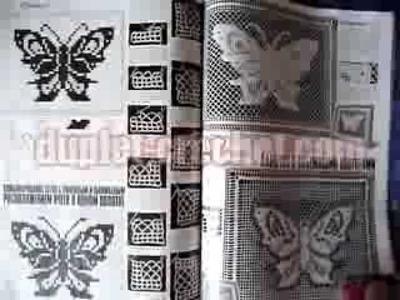 Duplet XXL September 2013 issue Butterflies vol.1 crochet patterns from www.duplet-crochet.com
