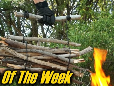 "Easy DIY Paracord Firewood Carrier - ""Tip Of The Week"" (E39)"