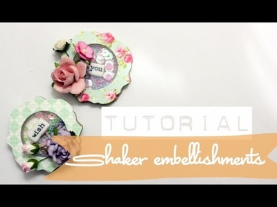 Easy How to Do - Shaker Embellishments | Shaker | Beads and Sequins | Tutorials