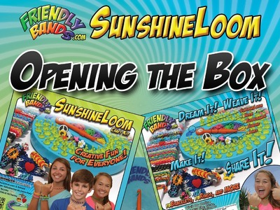 FriendlyBands Intro Video - A Look Inside The SunshineLoom Craft Kit Box