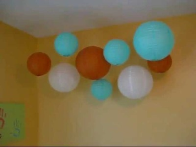Hanging Paper Lanterns DIY