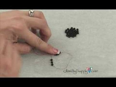 How to create a Ladder Stitch - Beading