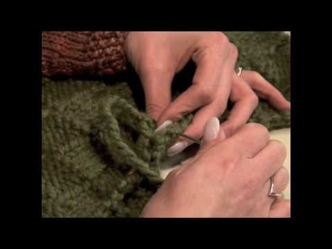 How to Knit a Basketweave Purse [Part 2]