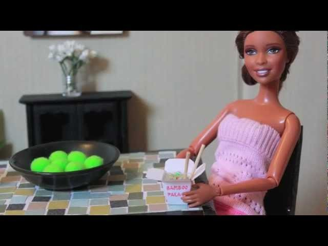 How to Make a Doll Table - Doll Crafts