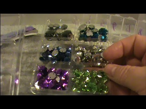 How To Make Really Pretty and Inexpensive Sew-On Button Bling Earrings!