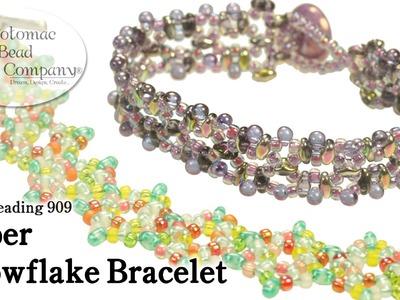 """Make a """"Super Snowflake"""" Bracelet"""