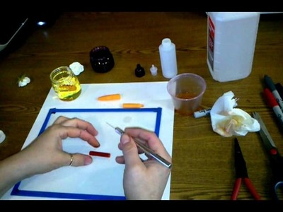 Making Alcohol Ink Using Sharpies Tutorial Part 2