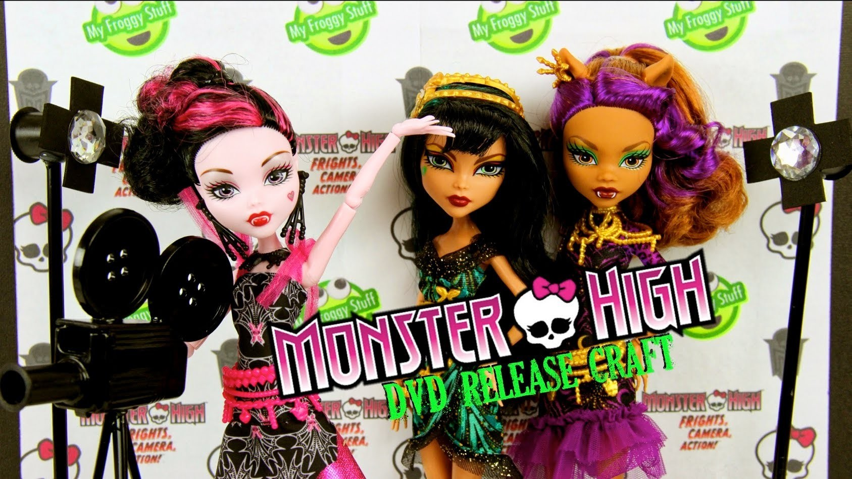 Monster High: Frights, Camera, Action Extreme Craft : Movie Set | Screening Room - Doll Crafts