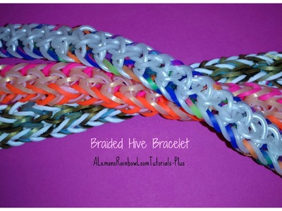 Monster Tail - Braided Hive Bracelet (Reversible) | How To