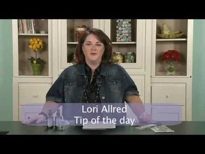 My Craft Channel: Tip of the Day - How to Create Paper Tape (Lori Allred)